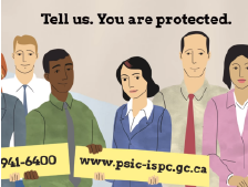 Tell Us, you are protected